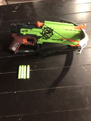 Nerf Zombie Strike Crossfire Bow for Sale in Niles, IL