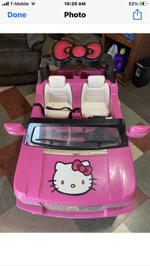 Hello kitty battery operated for Sale in Imperial Beach, CA