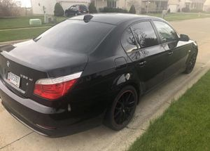 2008 bmw e60 535xi(title in hand)(needs engine repair) for Sale in Elyria, OH