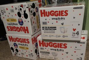Huggies Diapers for Sale in Lauderhill, FL
