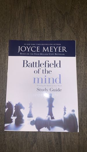Battlefield of the mind study guide for Sale in Lynn, MA