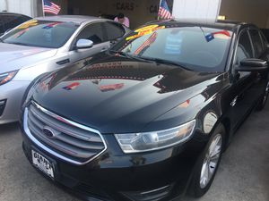 2014 Ford Taurus SEL Leather Black/Black absolutely excellent condition in and out ... for Sale in Houston, TX