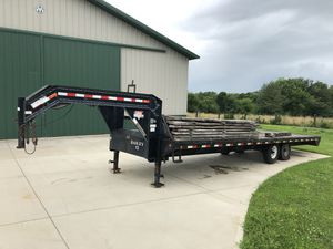 28' Gooseneck trailer by PJ Trailers for Sale in Paris, KY