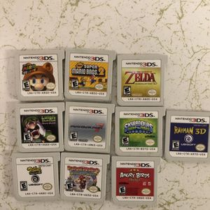3DS games for Sale in Seattle, WA