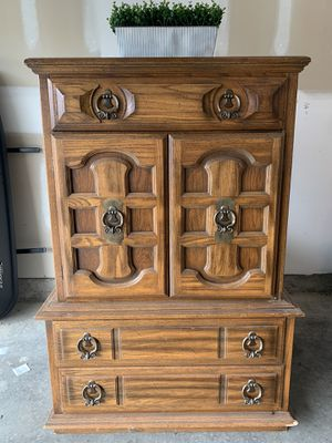 All Wood Dresser for Sale in La Vergne, TN