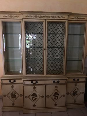 Antique China cabinet for Sale in Sunny Isles Beach, FL