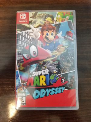 Brand New Sealed Super Mario Odyssey for Nintendo Switch for Sale in Los Angeles, CA