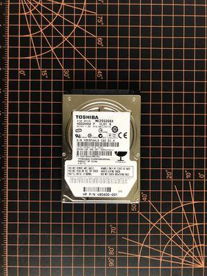 250GB SATA Hard Drive (Laptop) for Sale in North Miami Beach, FL
