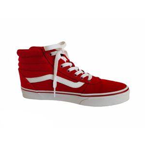 Vans SK8-HI Red & White High Top Sneakers for Sale in Lawrenceville, GA