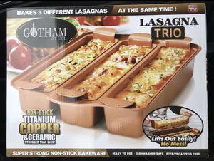 Gotham Steel Lasagna Trio for Sale in Oswego, IL