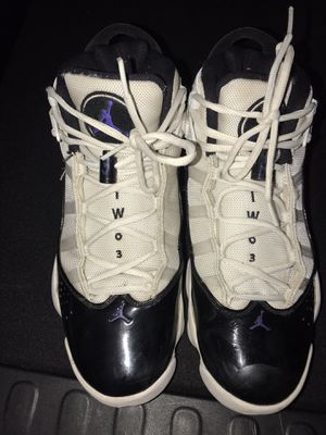 Jordan's- Mens 9.5 (were my 13 year olds shoes) for Sale in Tempe, AZ