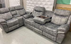 Furniture mattress- sofa + loveseat 🔥🔥( POWER USB STORAGE)🔥🔥 for Sale in Sacramento, CA
