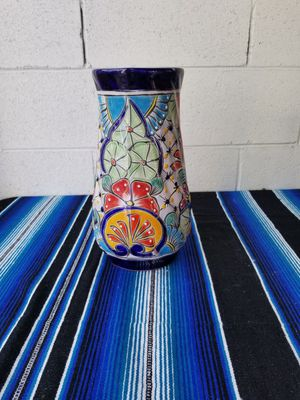 Talavera large flower vase for Sale in El Monte, CA