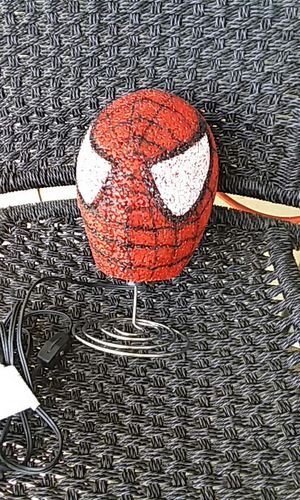 Spider man night light on stand for Sale in Kingsport, TN