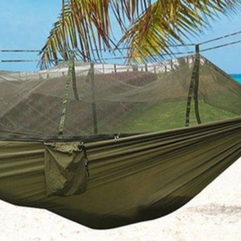 New Hammock For Camping Mosquito Net Hammocks Gear For Outdoors Backpack Travel $25.00 Each Firm Price