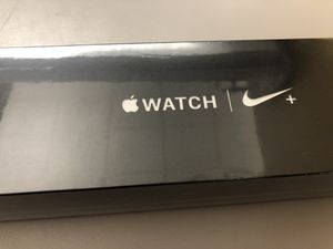 Brand new Unopened Apple series 4 nike with newly launched reflective band. for Sale in Chicago, IL