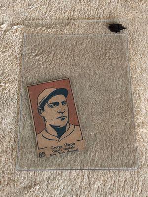 CARD BASEBALL 1928 W513 Strip Card George Harper #85 for Sale in Downey, CA