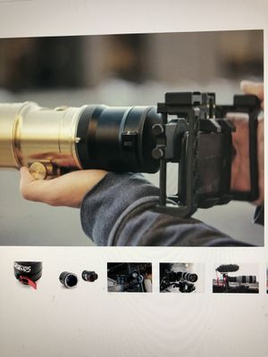 BeastGrip DOF MK2 Adapter (For Canon EF Lenses to 37mmThread Iphone Cage) for Sale in Elizabeth, NJ