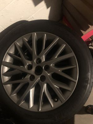 17 inch rims and tires and a set of 4 chrome rims for Sale in CT, US