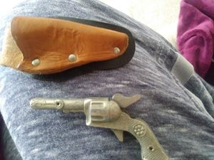 Vintage Roy Rogers Toy Cap Gun for Sale, used for sale  Alexandria, VA