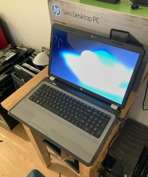 17' Hp g7 laptop, win10, 4gb, 650gb, dvd, hdmi, webcam, zoom ready, 2.4ghz i3 processor for Sale in Oakland, CA