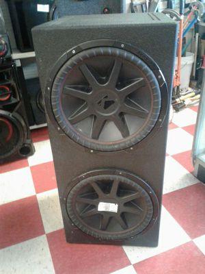 15 inch kicker speakers. for Sale in San Angelo, TX