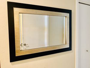 Wall mounted mirror for Sale in Central Houghton, WA