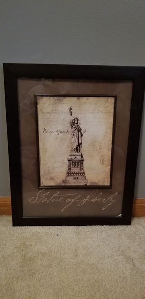 Statue of liberty picture for Sale in Eldon, MO