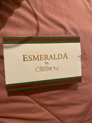 """Beauty creations-""""esmeralda"""" for Sale in Garden Grove, CA"""
