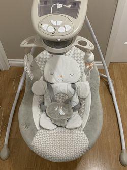 Baby Swing- Ingenuity Inlighten Cradling Swing for Sale in Boring,  OR