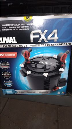Aquarium Canister Filter Fluval Fx4 for Sale in Phoenix,  AZ
