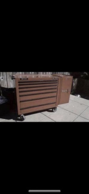 Tool box full with Mac and snap on tools for Sale in San Francisco, CA