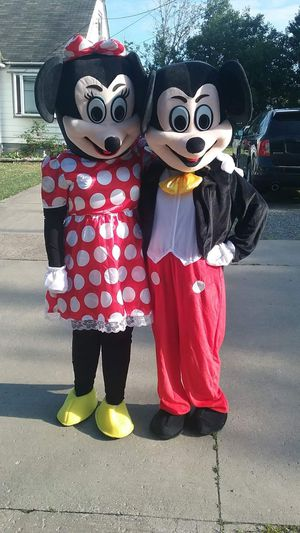 Mickey & Minnie costumes for adults for child's party for Sale in North Ridgeville, OH