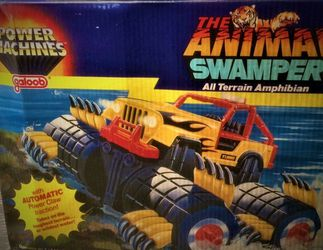 Vintage Power Machines The Animal Swamper 1985 Galoob With Box...Clean! for Sale in Oak Lawn,  IL