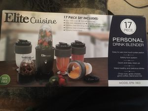 Elite Cuisine Personal Blender - new in unopened box for Sale in Kulpsville, PA