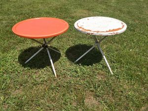Vintage patio tables for Sale in Bunker Hill, WV