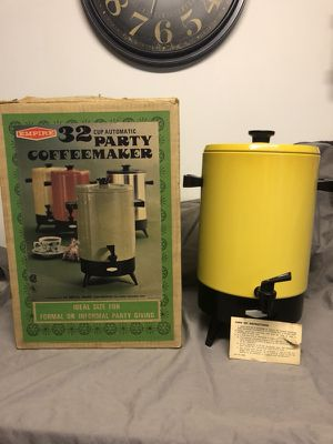 Vintage Party Coffee Maker. New in Box!!! for Sale in Pittsburgh, PA