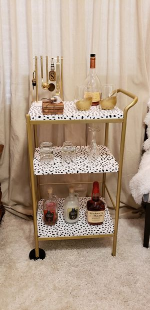 Gorgeous Custom Bar or Display Cart for Sale in Alexandria, VA