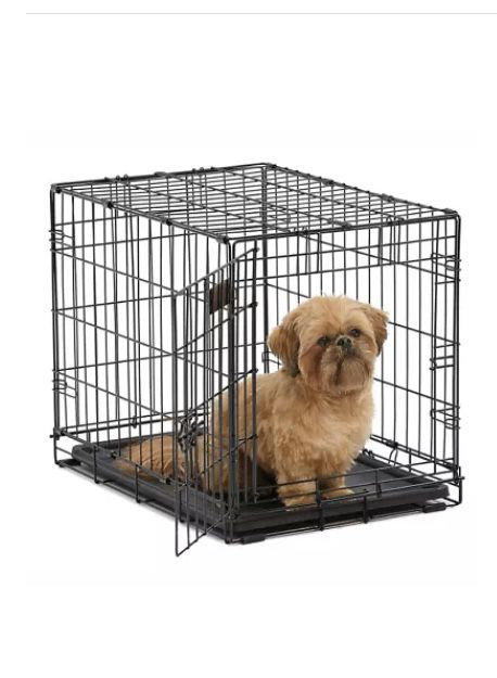 24 inch dog pet kennel folding cage metal wire steel. Like new CRATE