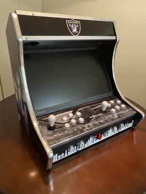 Raiders arcade bartop for Sale in Las Vegas, NV