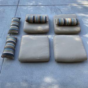 Hampton Bay Outdoor Chair Cushions for Sale in Murrieta, CA