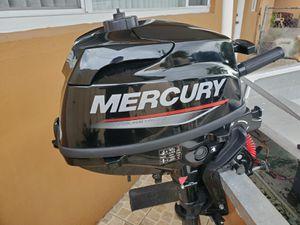 Outboard Motor 2019 Mercury 3.5hp 4stroke under warranty! for Sale in Hialeah, FL