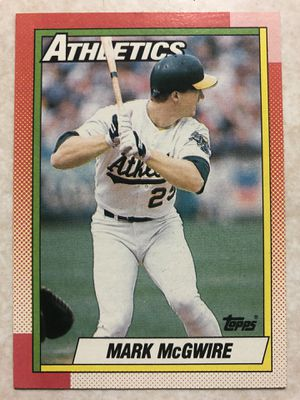 1990 Topps Mark McGwire Oakland Athletics #690 Baseball Card for Sale in San Jose, CA