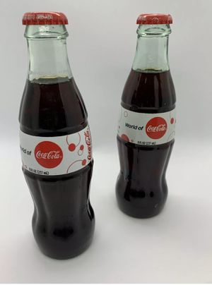 2 World of Coca-Cola of Coca-Cola Bottles for Sale in Fairburn, GA