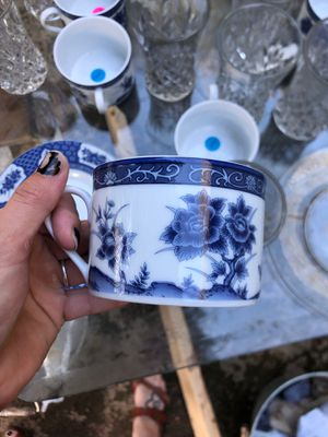 Blue plate set for Sale in Gastonia, NC