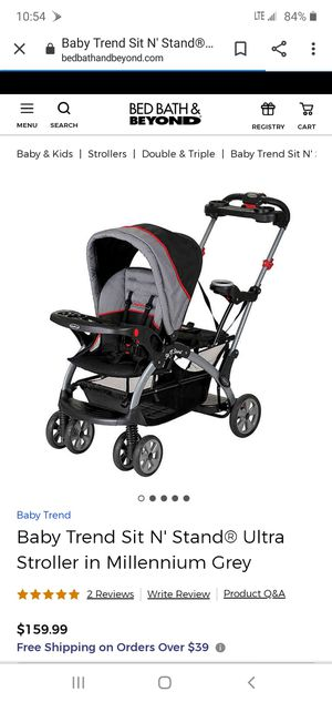 Baby Trend Sit n Stand Stroller for Sale in Charlotte, NC