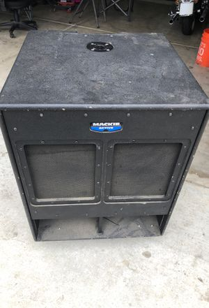 Mackie subwoofer for Sale in Bakersfield, CA