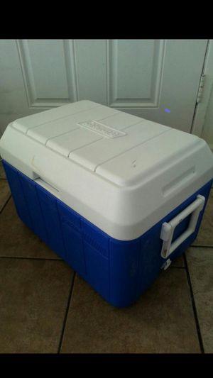 Blue Coleman cooler for Sale in Las Vegas, NV