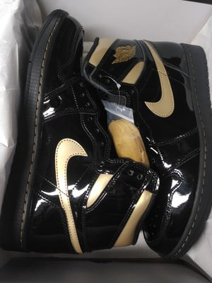 Jordan 1 Gold/black Highs MULTIPLE SIZES AVAILABLE for Sale in Alexandria, VA