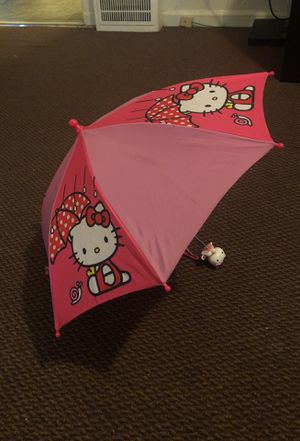 Hello Kitty, toddler umbrella for Sale in Pontiac, MI